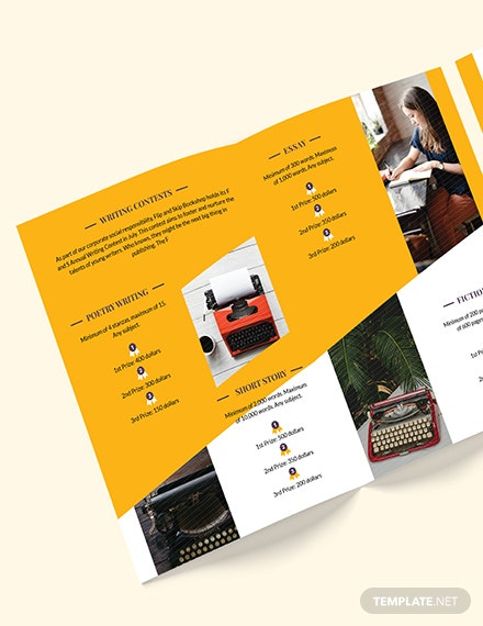 Book Store BiFold Brochure Download