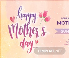 Free Mother's Day Google Plus Cover Template