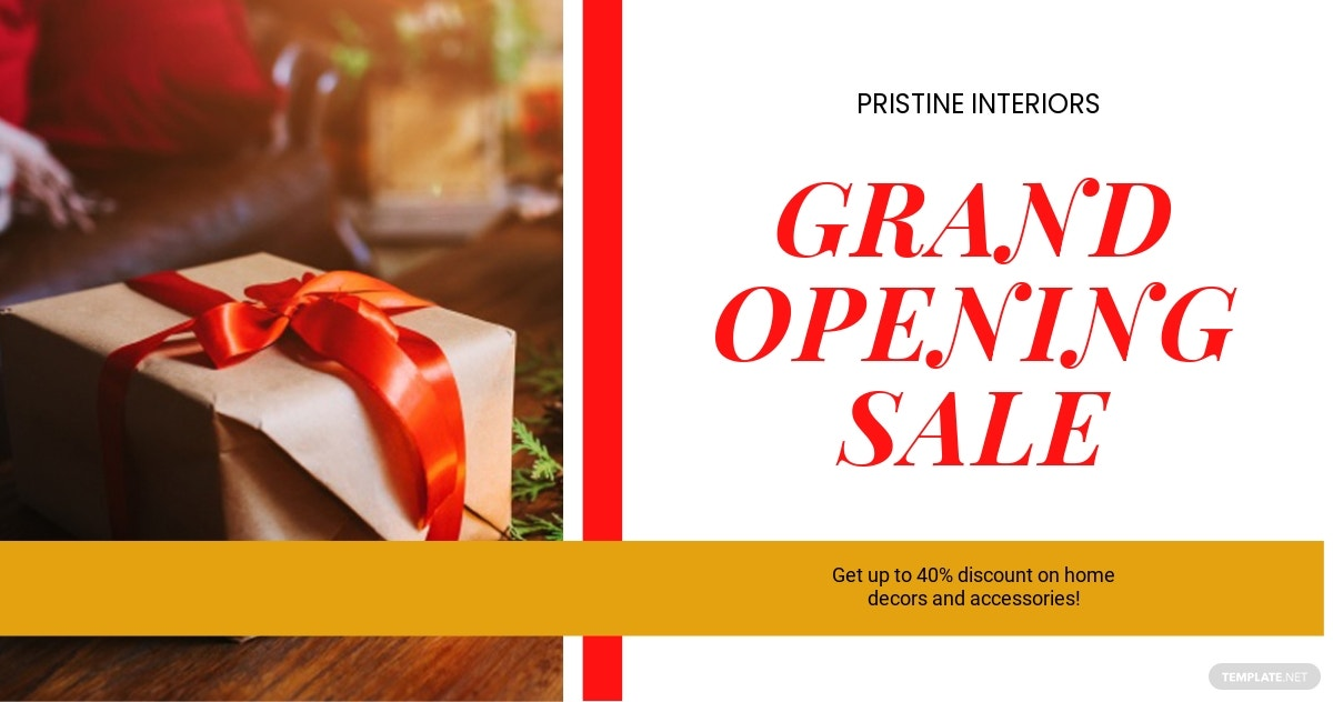 Holiday Sale Facebook Ad Banner Template