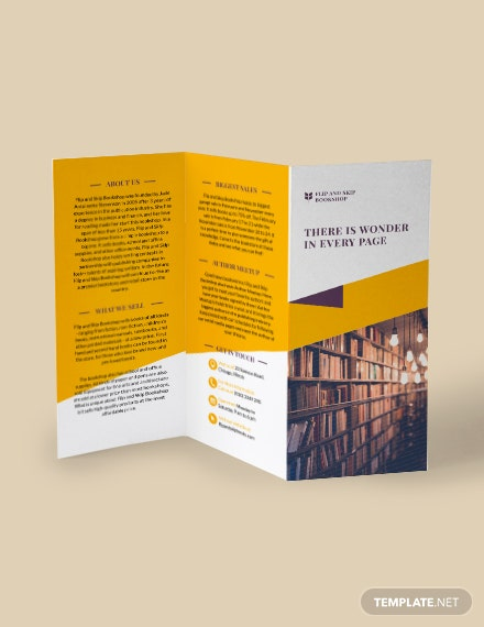Business Training TriFold Brochure Download