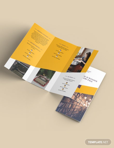 Business Training TriFold Brochure Template