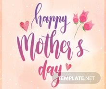Free Mother's Day Google Plus Header Photo Template