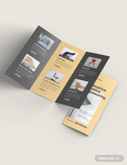 Furniture Company TriFold Brochure Download