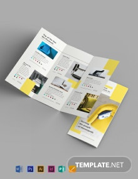 Furniture Store Tri-Fold Brochure Template