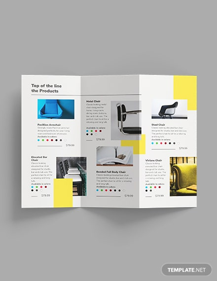 Furniture Store TriFold Brochure Download