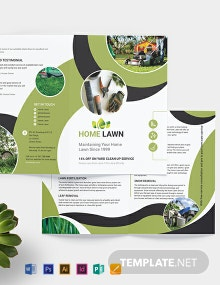 Home Care Bi-Fold Brochure Template