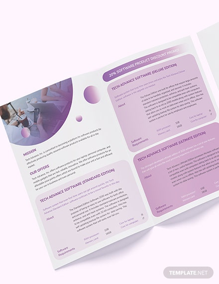 Modern Software Company BiFold Brochure Download