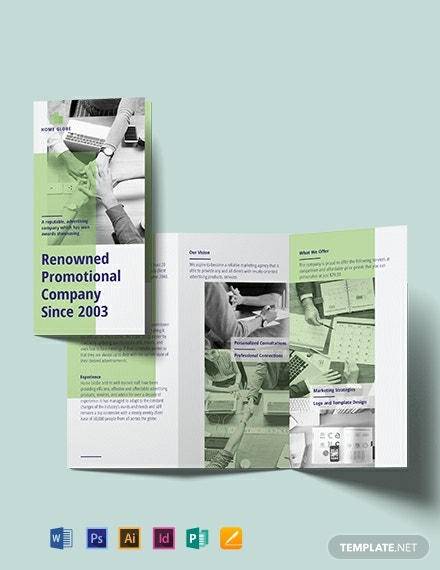 Promotional Tri-Fold Brochure Template