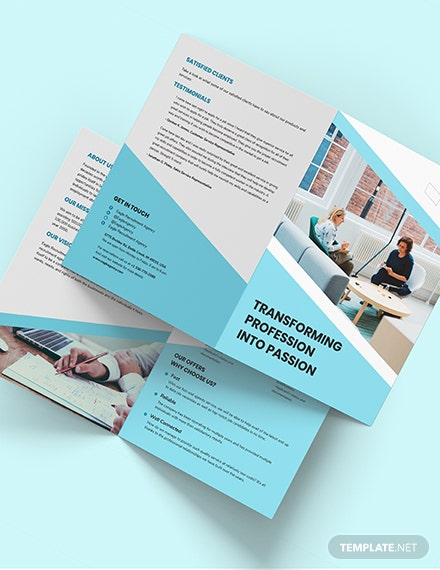 Recruitment Agency BiFold Brochure Download