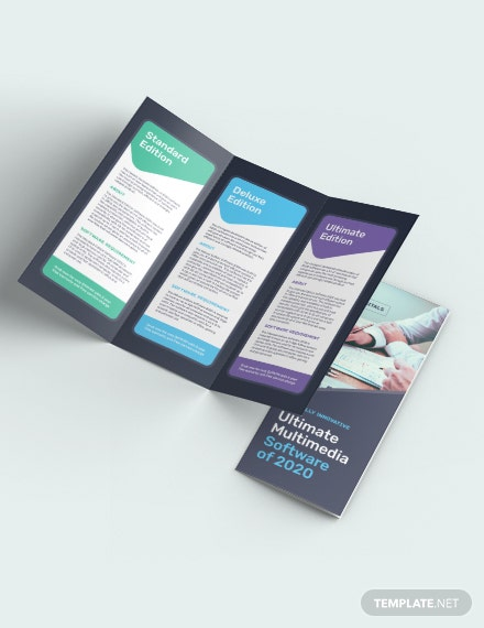 Software Company TriFold Brochure Download