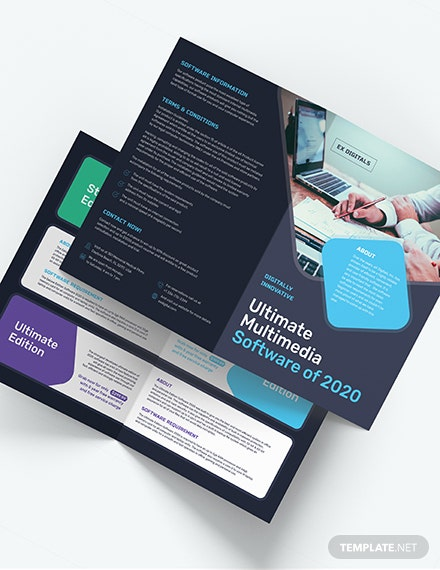 Software Company BiFold Brochure Download