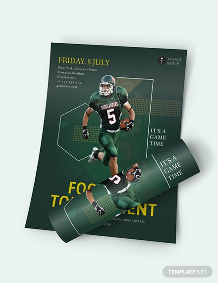 Football Game Flyer Download