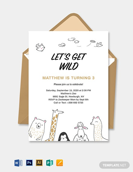 Kids Invitation Template