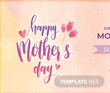 Free Mother's Day LinkedIn Company Cover Template