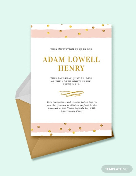 46 Event Invitations Designs Templates Psd Ai Free