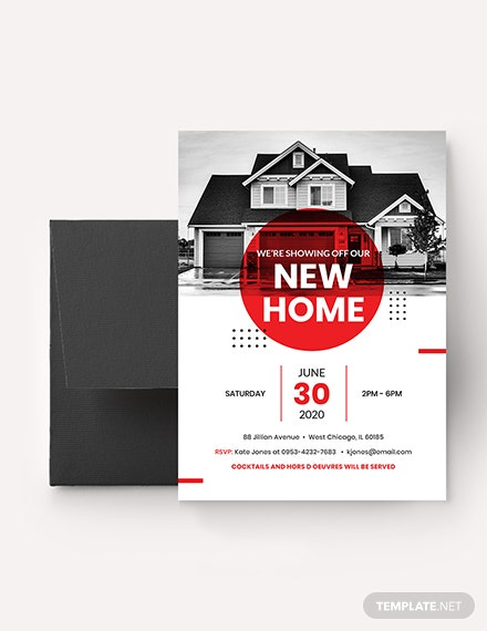 Real Estate Open House Invitation Download