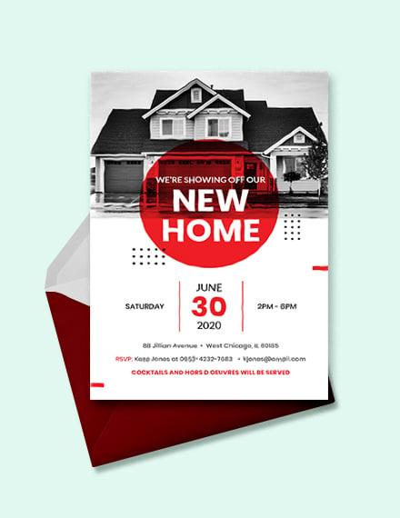 14 Open House Invitation Templates Free Psd Vector Eps