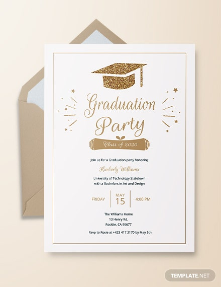 photo regarding Printable Graduation Announcements identified as 42+ Printable Commencement Invites - PSD, AI, Term Absolutely free