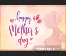 Free Mother's Day Pinterest Board Cover Template