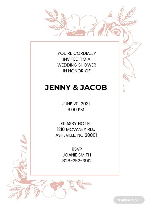 Wedding Shower Invitation Template.jpe
