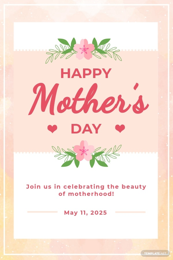 Free Mother's Day Pinterest Pin Template.jpe