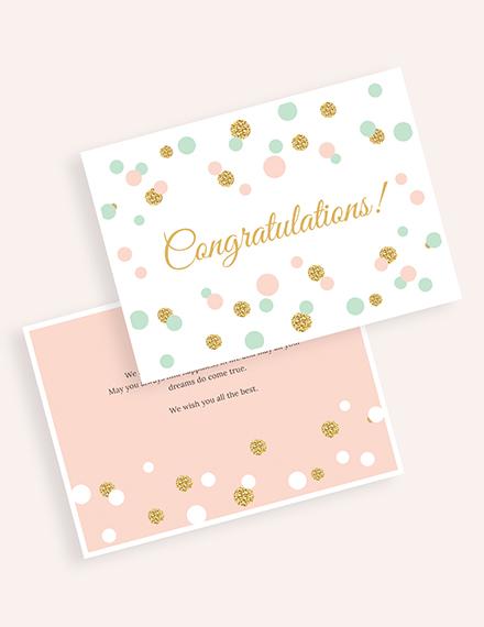 Congratulations Card Download