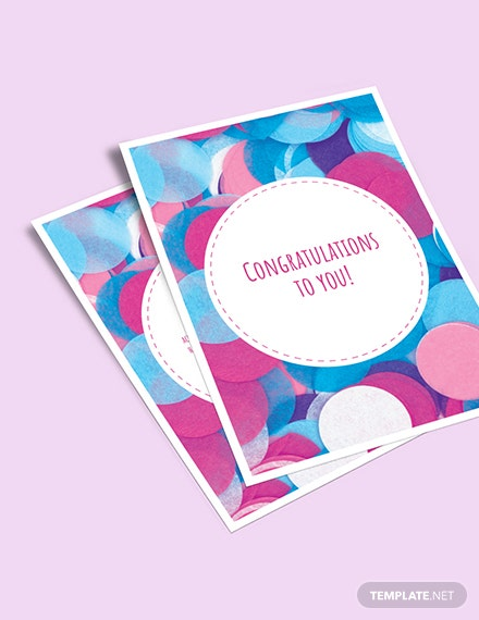 Congratulations Greeting Card Download