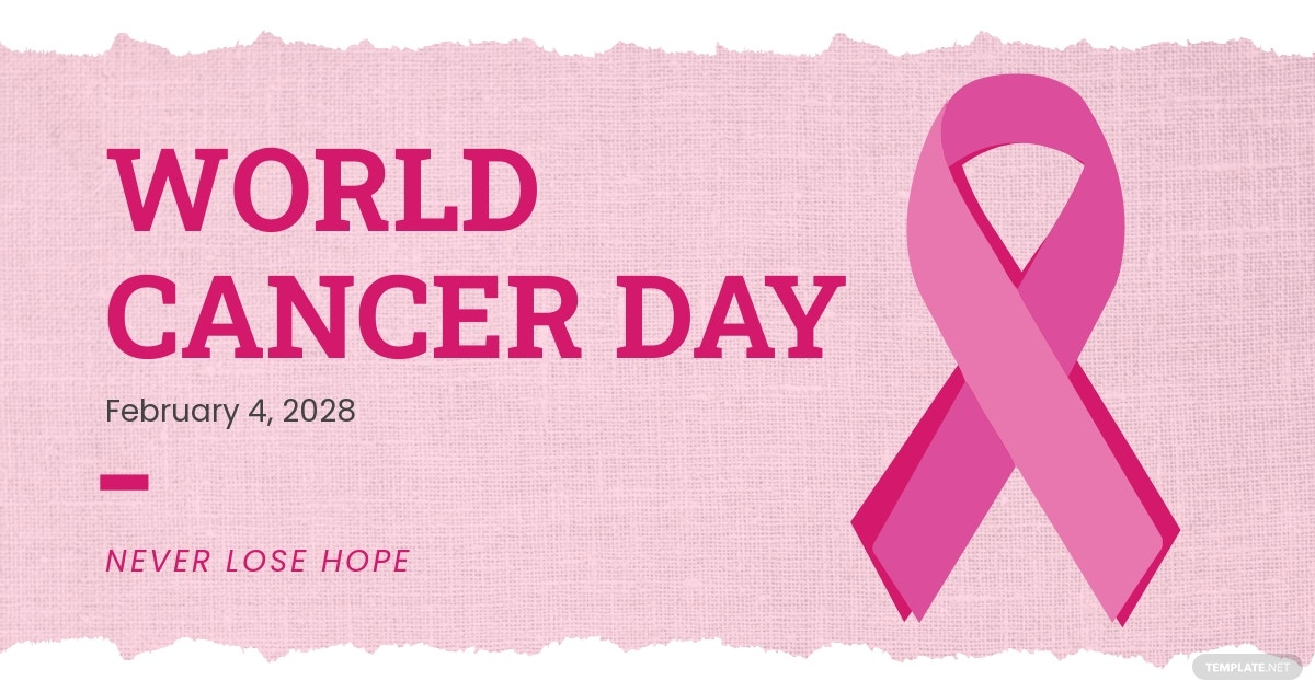 World Cancer Day Linkedin Post Template