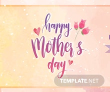 Free Mother's Day Tumblr Banner Template