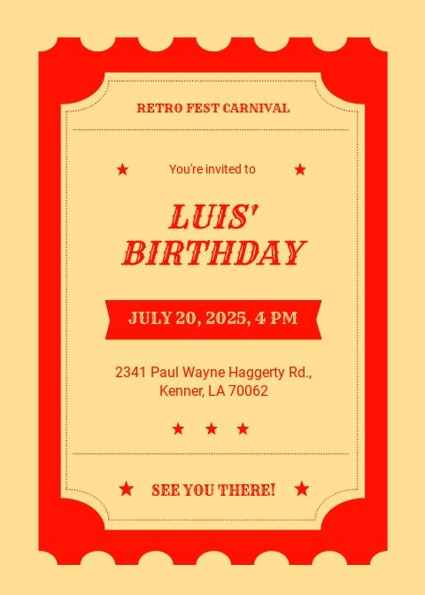 Carnival Ticket Birthday Invitation Template.jpe