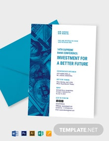 Investment Seminar Invitation Template