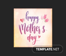Free Mother's Day Tumblr Profile Photo Template
