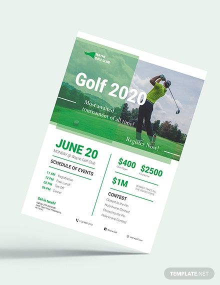 Golf Flyer Download