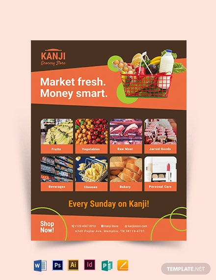 Grocery Flyer Template