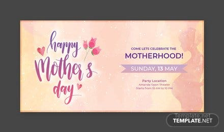 Free Mother's Day Twitter Post Template