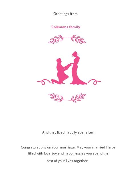 Marriage Greeting Card Template 1.jpe