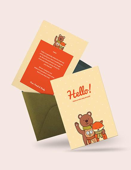 Simple Greeting Card Download