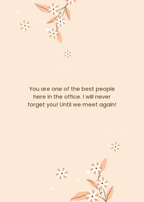 Simple Office Farewell Card Template 1.jpe