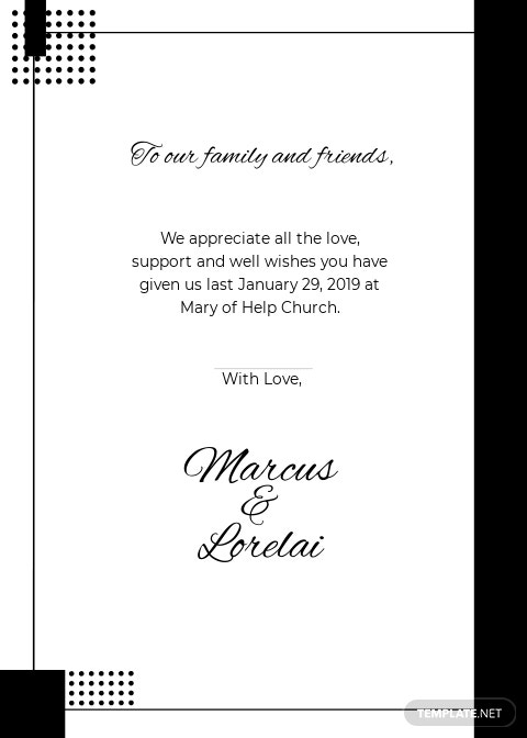 Simple Wedding Thank You Card Template 1.jpe
