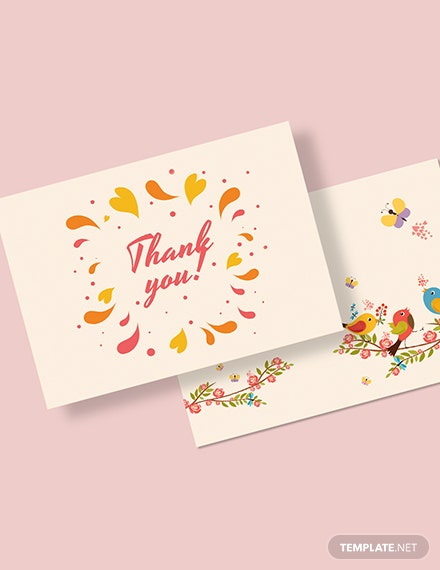Thank You Greeting Card Download