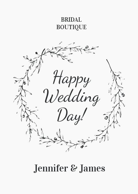 Wedding Greeting Card Template.jpe
