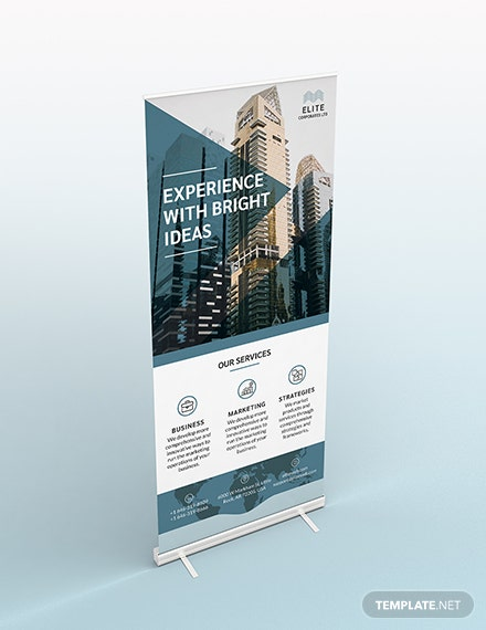 Corporate Roll up banner download