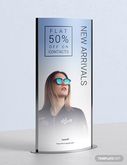Product Roll Up Banner Download