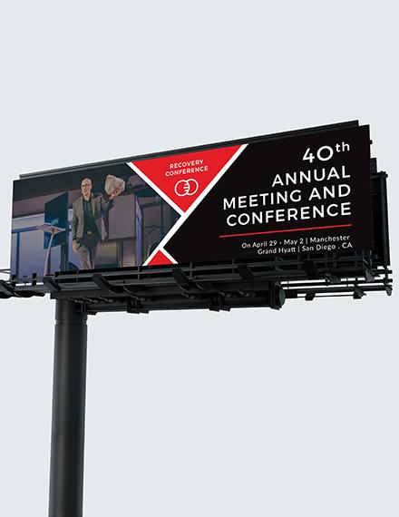 Conference Billboard Download