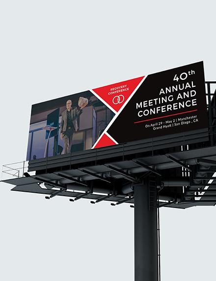 Sample Conference Billboard