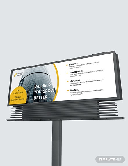 Corporate Billboard Download