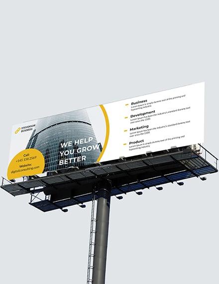 Sample Corporate Billboard