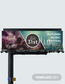 Event Billboard Template