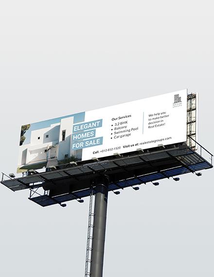 Sample Real Estate Billboard
