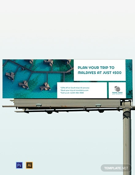 Travel Billboard Template